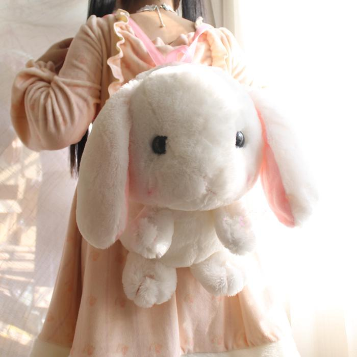 Rabbit Plush Backpack Bag Japanese Soft Sister Free Shipping