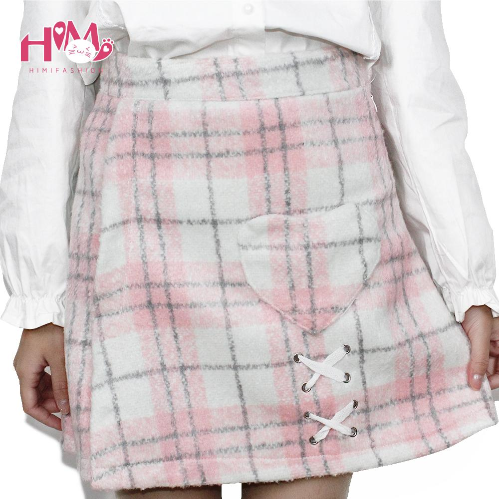 267d28ccead03 Japanese Letter Camouflage Mini Skirt-himifashion