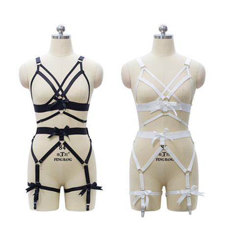 Sexy Harness Garter Set