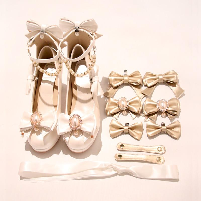 【limited quantity】Princess Lolita Heels Sets