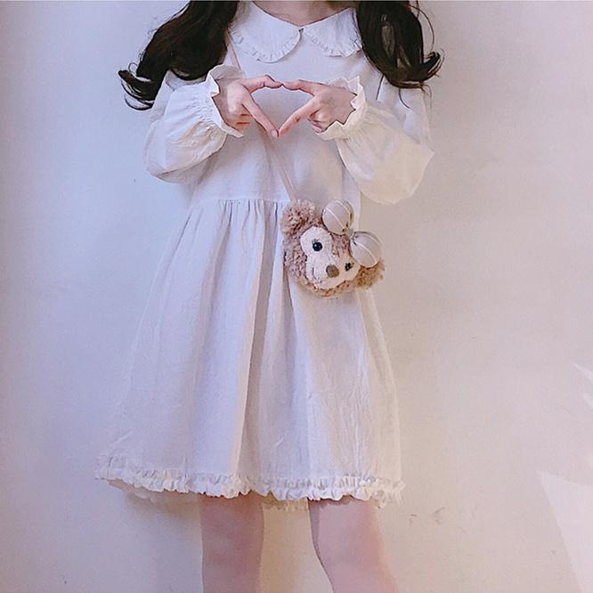 Soft Sister Dolly Cotton White Dress