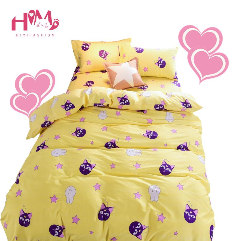 Sailor Moon Cotton Bedding Set