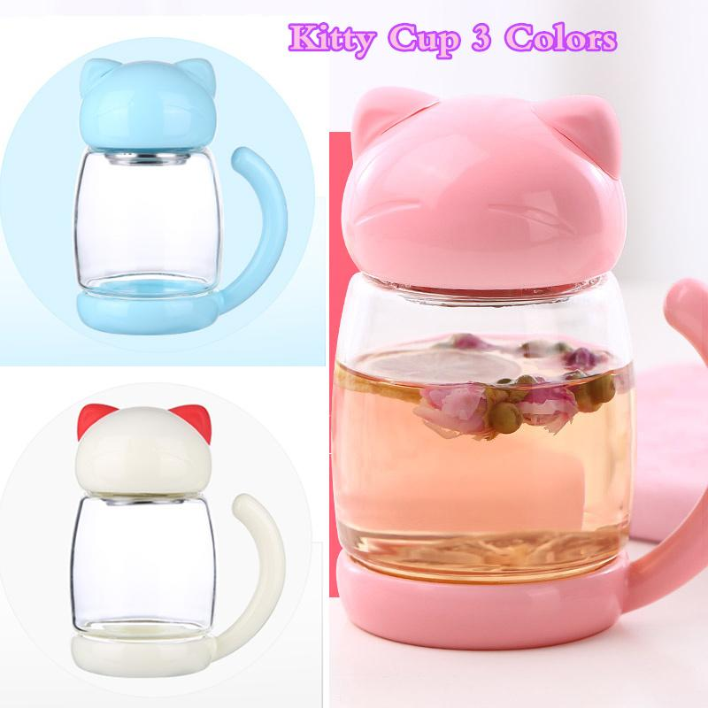 Cute Kitty Cup 3 Colors