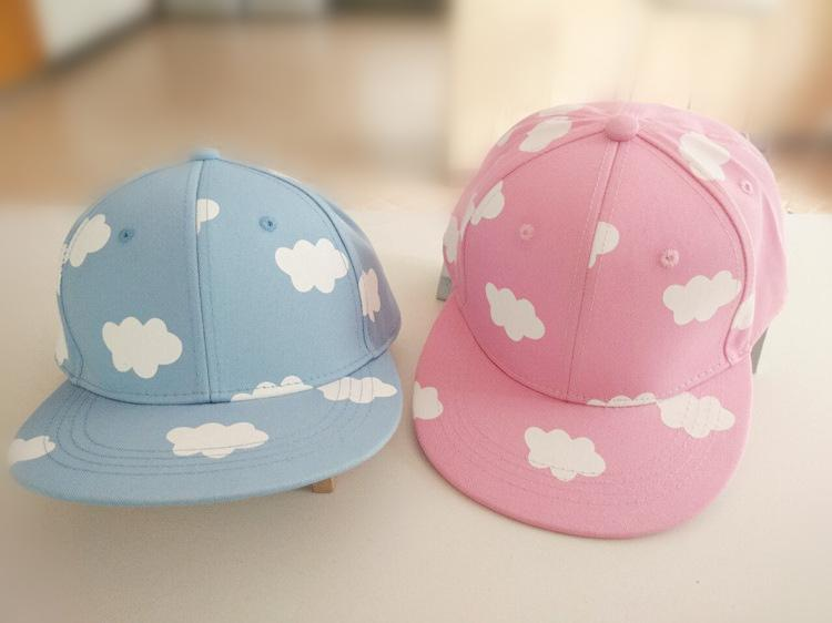 Flaky Clouds Cotton Baseball Cap
