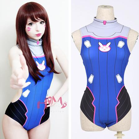 Cartoon One-piece Swimming Suit