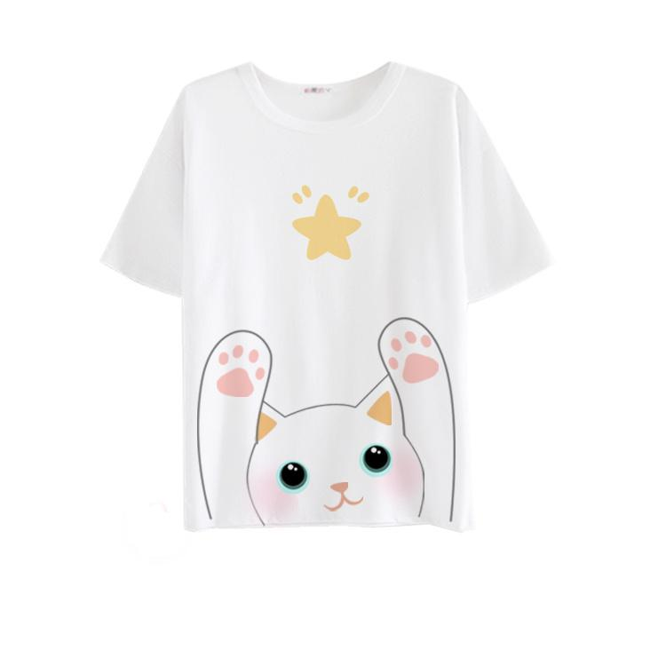 Star Kitty White T-shirt