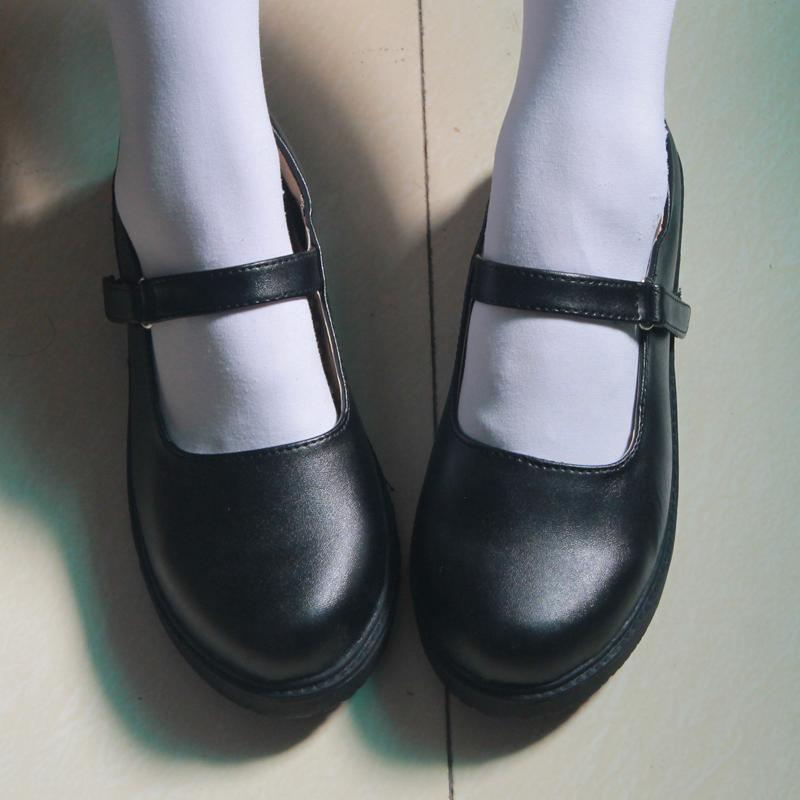 Japanese School Seifuku Black Dolly Shoes