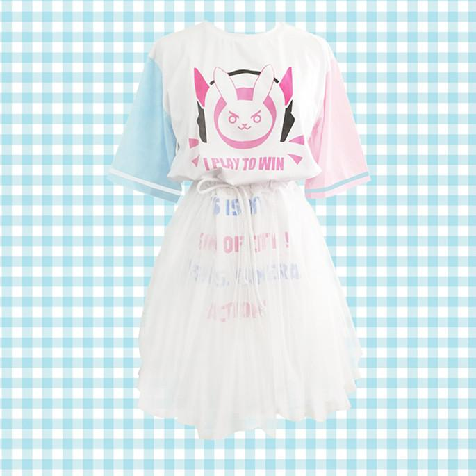 Ow Dva T-shirt Yarn Dress