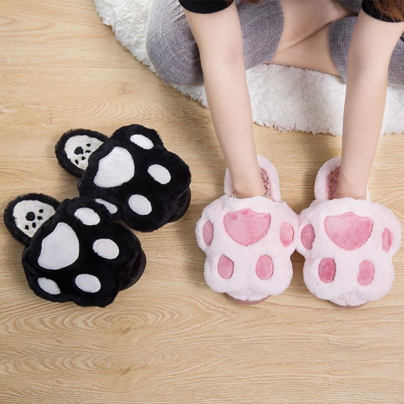 Kawaii Cat Paw Home Slipper