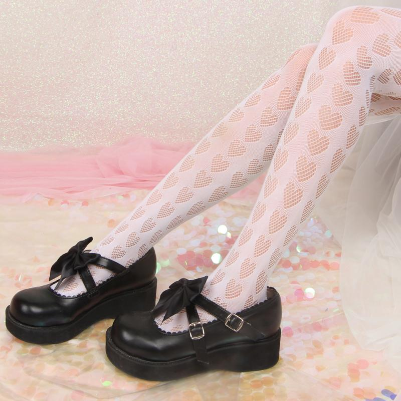 Lolita Girl  Hollow  Bottomed  Pantyhose