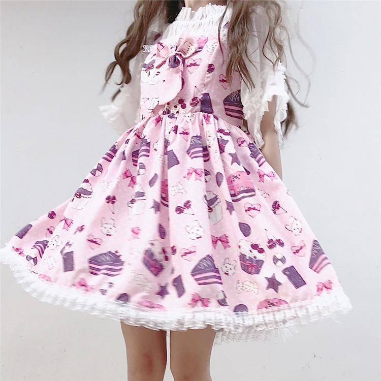 Sweet Girl Daily Dresses In Different Colors