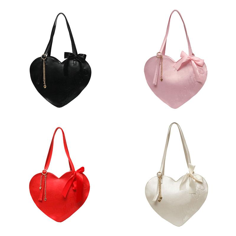 Loving Bow Large Capacity Handbag