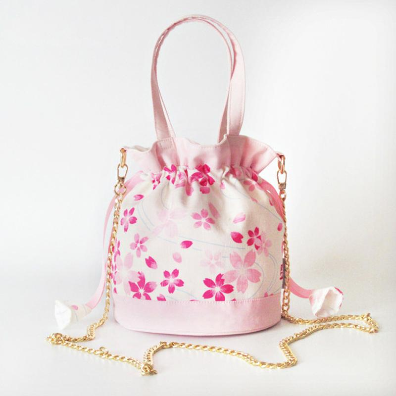 Cherry Blossom Shoulder Chain Bag