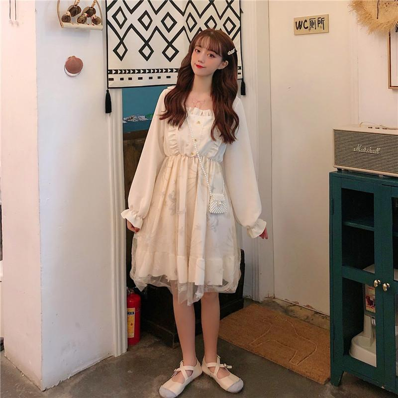 Lolita Mesh long Sleeve Princess Dress