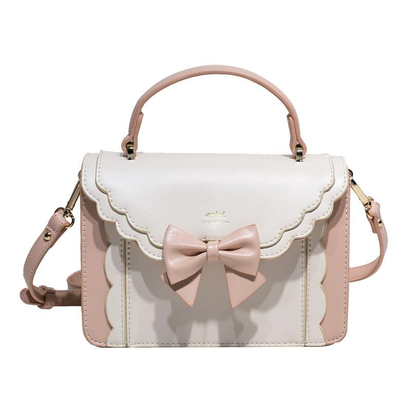 Japanese Style Lolita Bow Shoulder Bag For Ladies